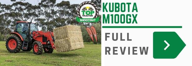 Kubota M100GX tractor
