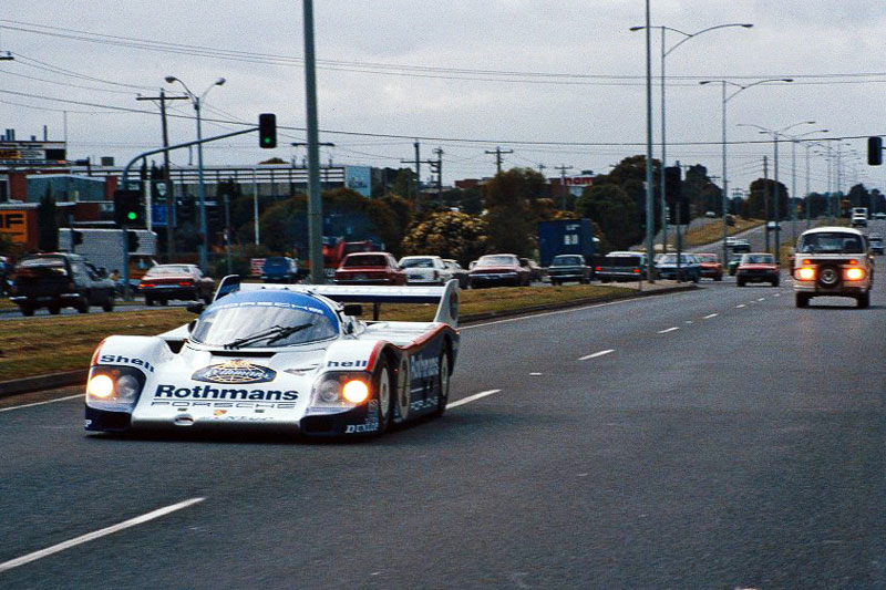 Rothmans -WEC-team -on -Prinny -rolling