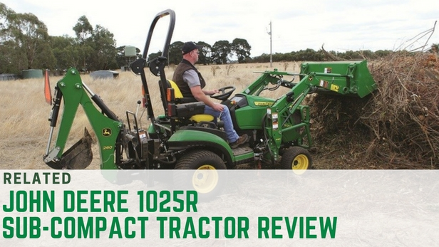 John Deere 1025R sub-compact tractor