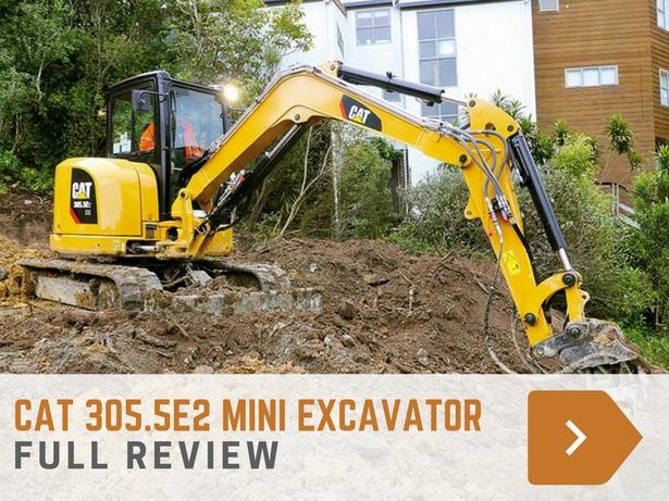 Cat 305.5E2 mini excavator