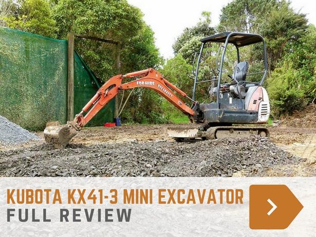 Kubota KX41-3 mini-excavator
