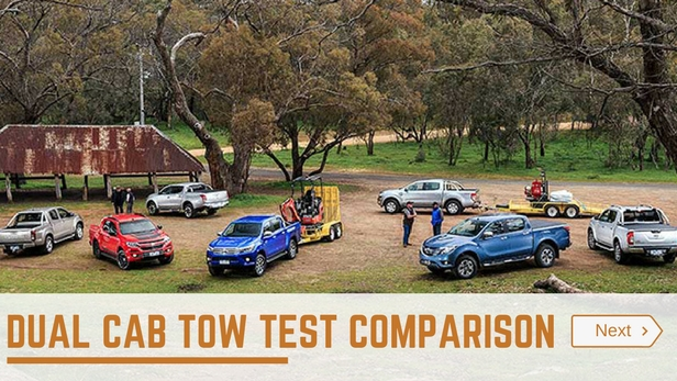 dual cab ute tow test
