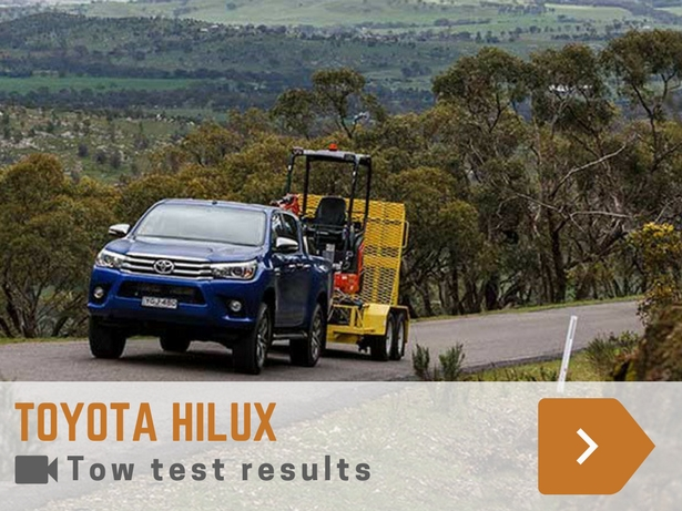 toyota hilux tow test