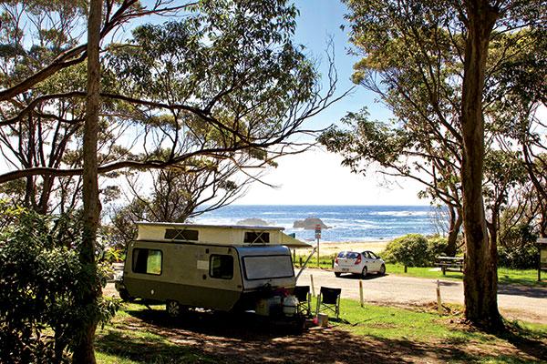 Caravan -at -Mystery -Bay -camping -ground
