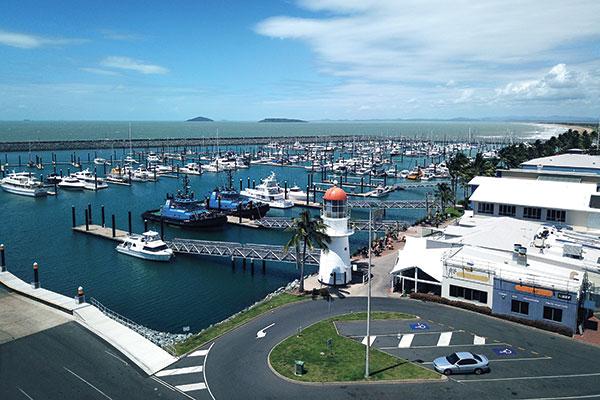 Marina -near -Cumberland -Islands