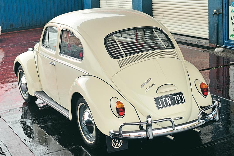 Volkswagen -beetle -rear