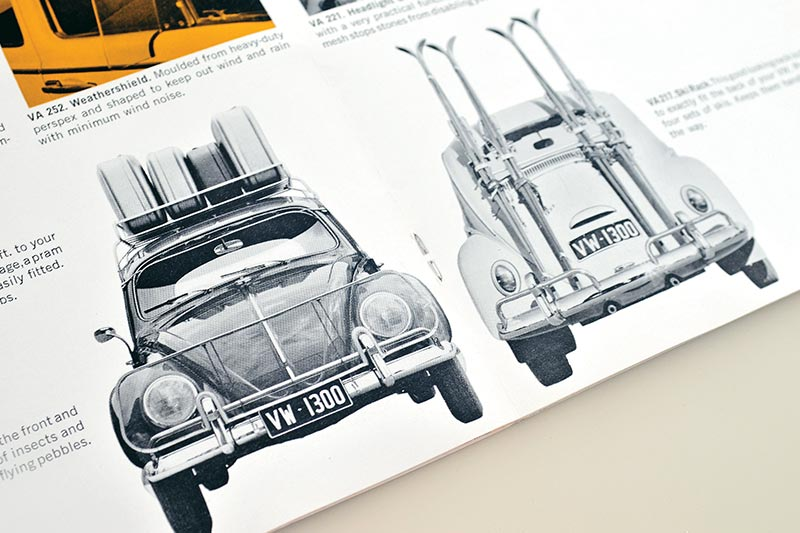 Volkswagen -beetle -brochure