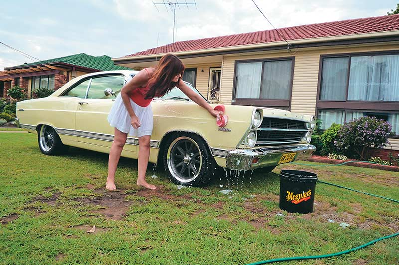 Washing -car