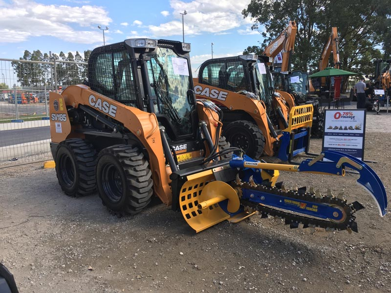 Case -SV185-skid -steer
