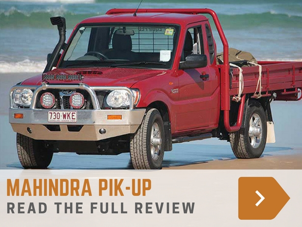 Mahindra Pik-Up review