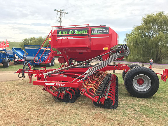 The Horsch Avatar 6.16 SD disc seed drill