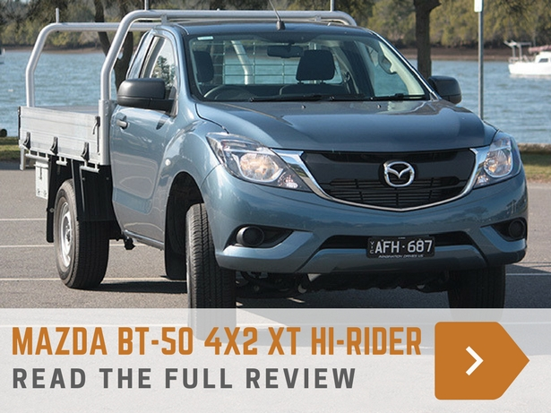 Mazda BT-50 4x2 XT Hi-Rider review