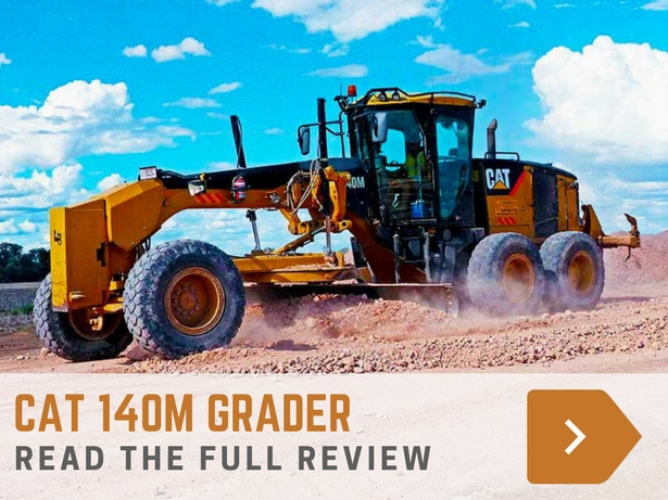 CAT 140M GRADER