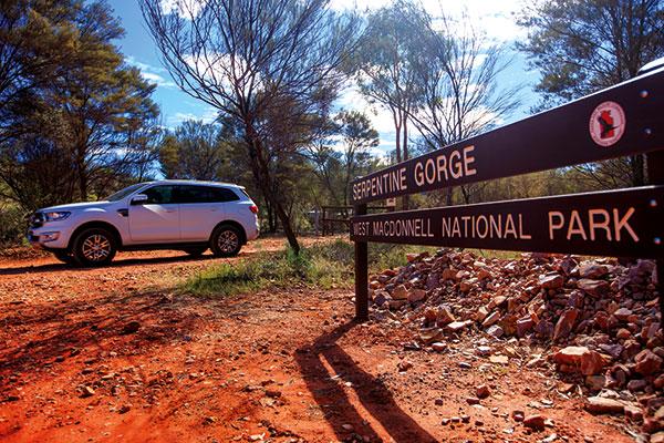 Serpentine -Gorge -West -Mac Donnell -Ranges -NT