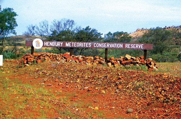 Henbury -Meteorites -Conservation -Reserve