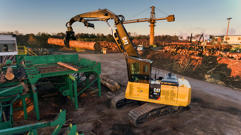 Cat -548-forestry -machines