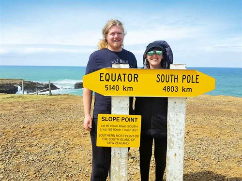 Slope -Point -is -as -far -south -as -you -can -go!