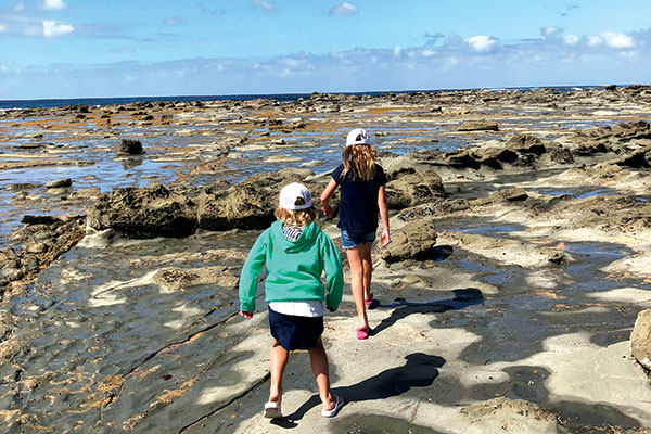 Kids -at -The -Caves -Inverloch -Victoria