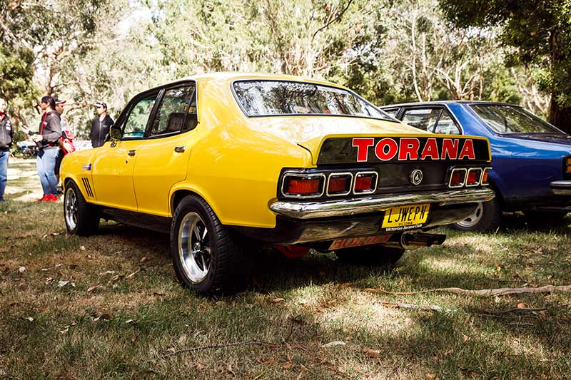 Holden -torana -lj -rear
