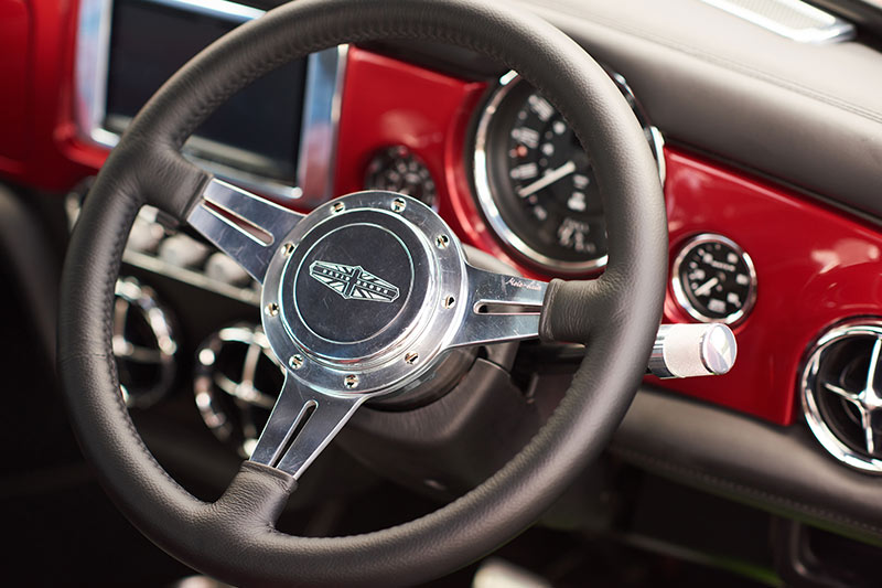 Mini -steering -wheel