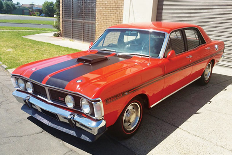Ford -falcon -xy -gt