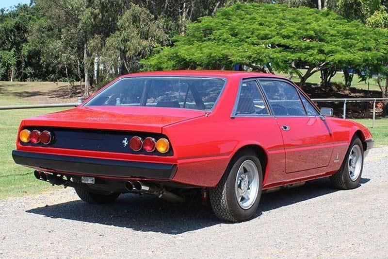 Ferrari -365-gt 4-rear