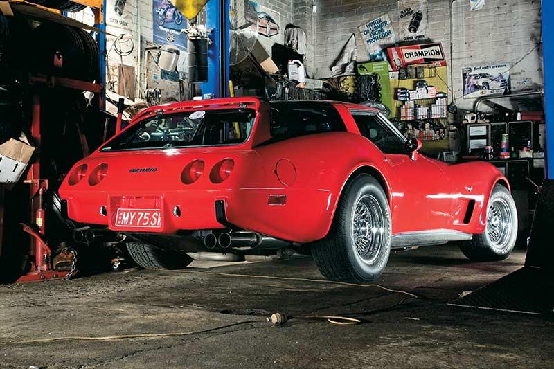 Corvette -rear