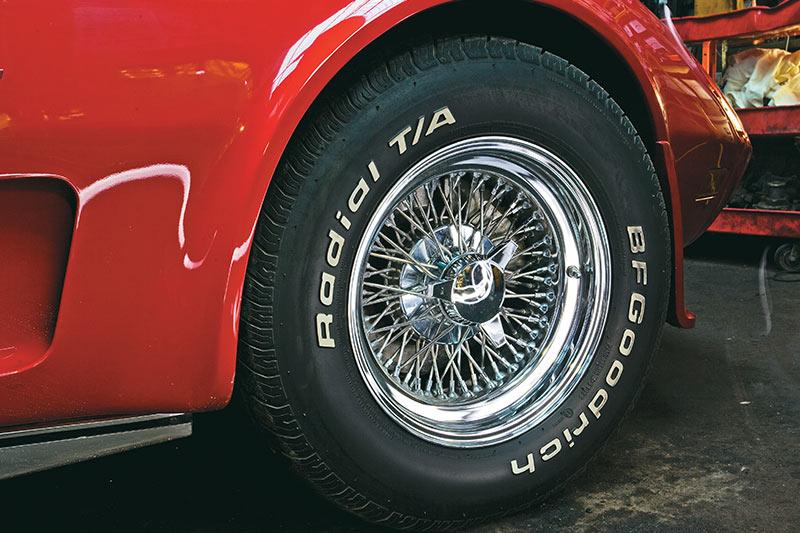 Corvette -wheel