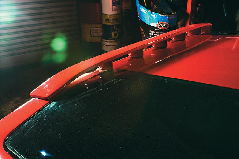 Corvette -spoiler