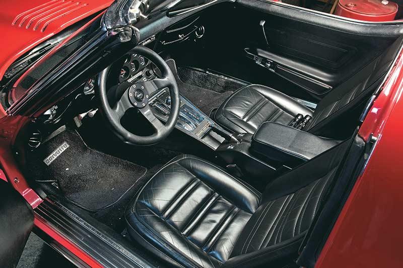 Corvette -interior -front