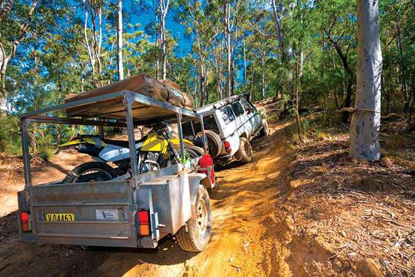 4WD-offroad -through -the -forest
