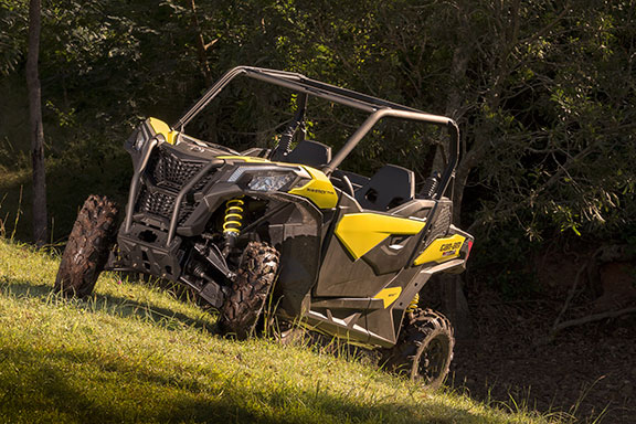 The Can-Am Maverick Trail 1000 is quick