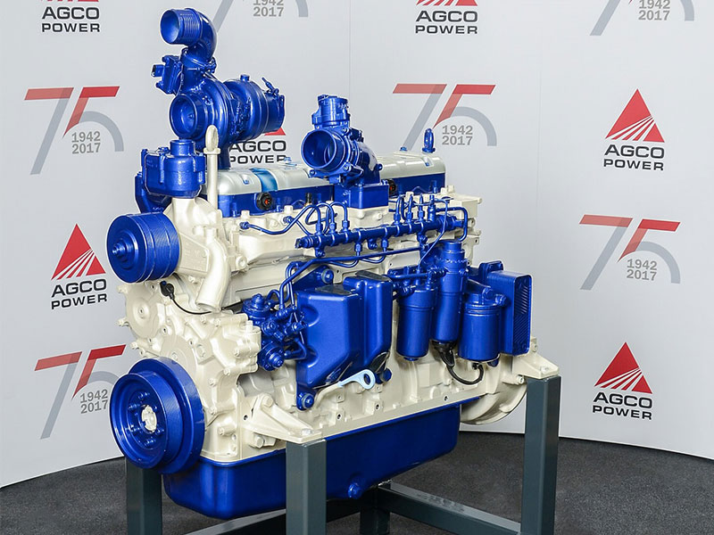 The millionth AGCO power engine on display