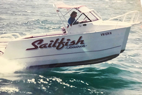 Sailfish -catamarans -boat