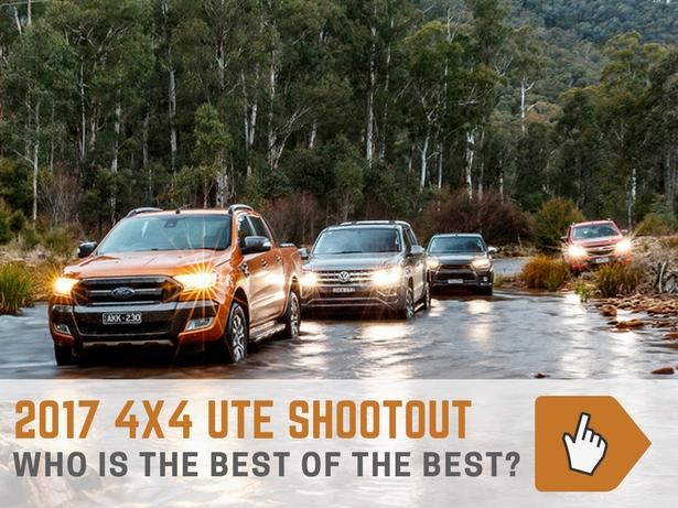 2017 4x4 Ute comparison
