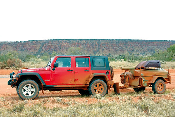 4WD-towing -camper -trailer