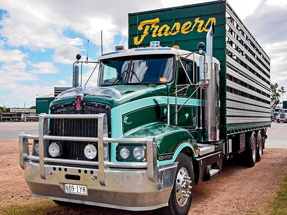A Kenworth truck