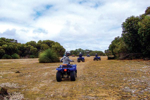 Kangaroo -Island -SA-quad -bike -outdoor -action -tour