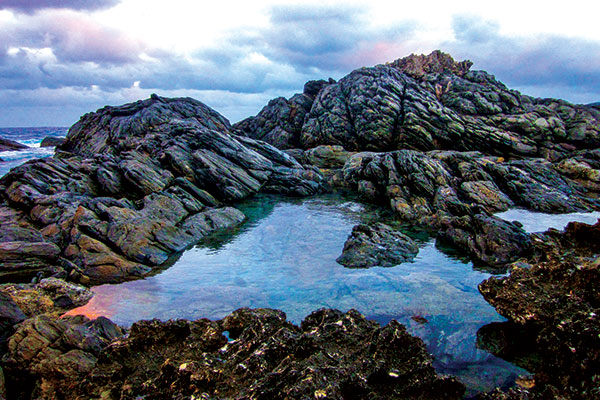 Kangaroo -Island -SA-sedimentary -rocks