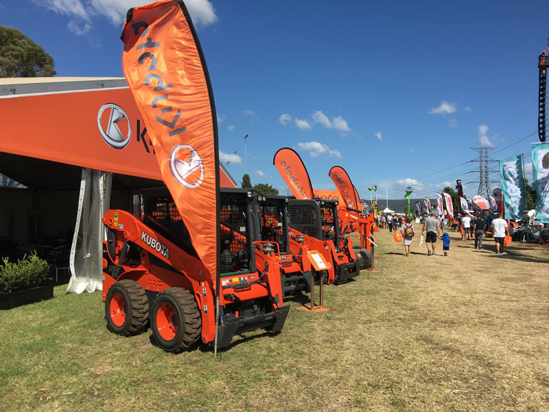 Kubota -nailed -it -with -the -AG-and -Construction -stand