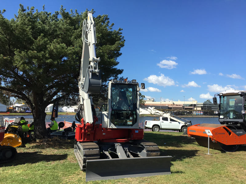 Takeuchi -TBO80FR-Compact -Excavator