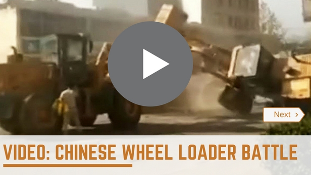 Chinese Wheel Loader Battle