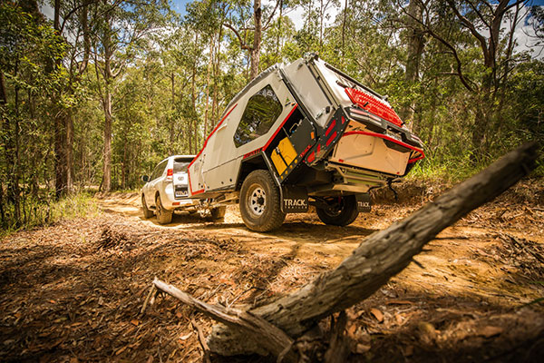 4WD-offroad -towing -Track -Trailer -Tvan -camper -trailer