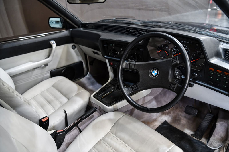 Gosford -Germans -BMW-635-interior