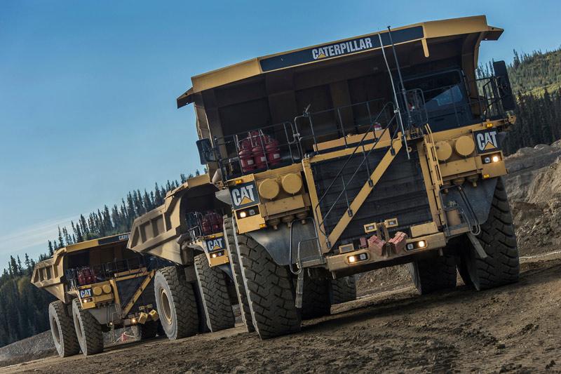 Cat -793-mining -truck