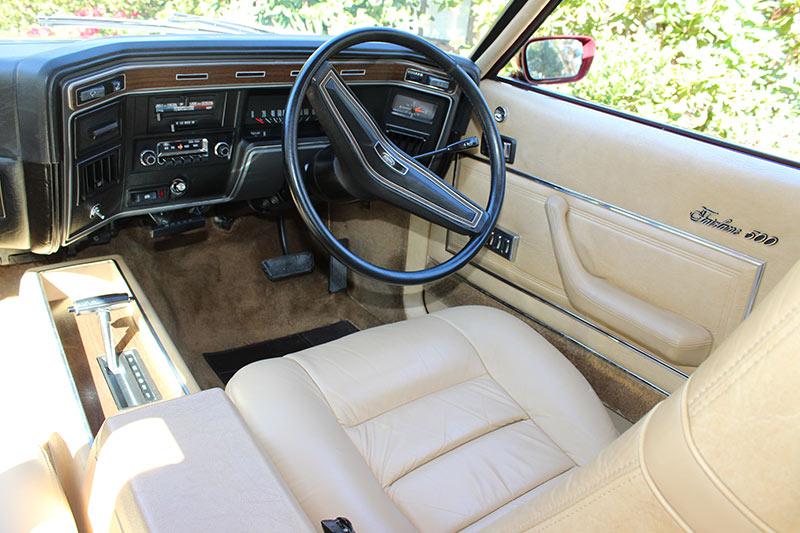 Ford -zg -fairlane -interior