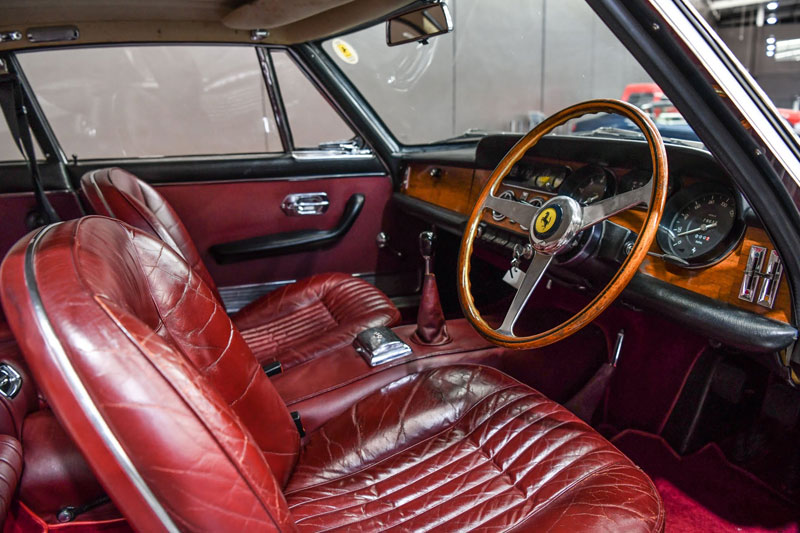 Gosford -Italian -Ferrari -330-interior