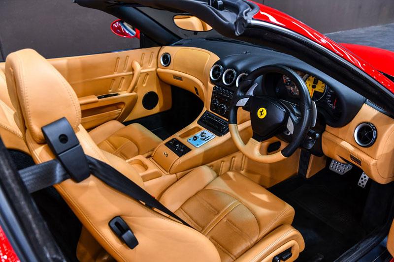 Gosford -Italian -Ferrari -SA-interior