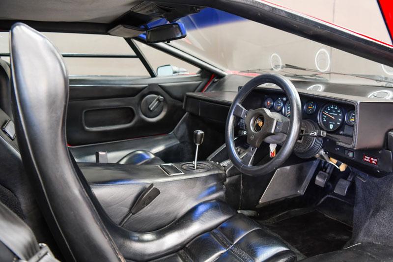 Gosford -Italian -Lamborghini -interior