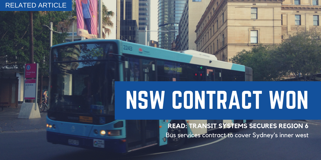 RELATED ARTICLE: TRANSIT SYSTEMS SECURES REGION 6